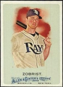 2010 Topps Allen and Ginter Ben Zobrist Baseball Card