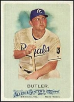 2010 Topps Allen and Ginter Billy Butler Baseball Card