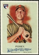 2010 Topps Allen and Ginter Buster Posey Rookie Baseball Card