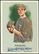 2010 Topps Allen and Ginter Carl Pavano Baseball Card