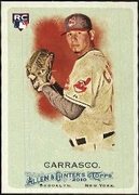 2010 Topps Allen and Ginter Carlos Carrasco Baseball Card