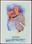 2010 Topps Allen and Ginter Carlos Gomez SP Baseball Card