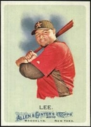 2010 Topps Allen and Ginter Carlos Lee Baseball Card
