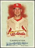2010 Topps Allen and Ginter Chris Carpenter Baseball Card