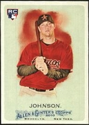 2010 Topps Allen and Ginter Chris Johnson Rookie Baseball Card