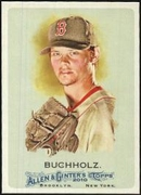 2010 Topps Allen and Ginter Clay Buchholz Baseball Card