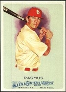 2010 Topps Allen and Ginter Colby Rasmus Baseball Card