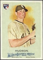 2010 Topps Allen and Ginter Daniel Hudson Rookie Baseball Card