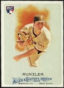2010 Topps Allen and Ginter Daniel Runzler Rookie Baseball Card