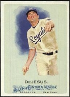 2010 Topps Allen and Ginter David DeJesus Baseball Card