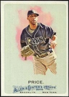 2010 Topps Allen and Ginter David Price Baseball Card