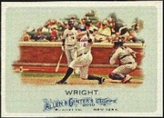 2010 Topps Allen and Ginter David Wright Baseball Card
