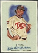 2010 Topps Allen and Ginter Denard Span Baseball Card