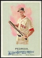 2010 Topps Allen and Ginter Dustin Pedroia Baseball Card