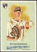 2010 Topps Allen and Ginter Dustin Richardson Rookie Baseball Card