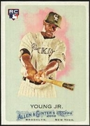2010 Topps Allen and Ginter Eric Young Jr. Baseball Card