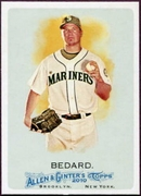 2010 Topps Allen and Ginter Erik Bedard SP Baseball Card