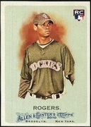 2010 Topps Allen and Ginter Esmil Rogers Rookie Baseball Card