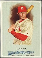 2010 Topps Allen and Ginter Felipe Lopez Baseball Card