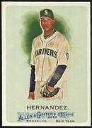 2010 Topps Allen and Ginter Felix Hernandez Baseball Card