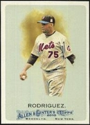 2010 Topps Allen and Ginter Francisco Rodriguez Baseball Card