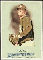 2010 Topps Allen and Ginter Gavin Floyd Baseball Card