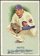 2010 Topps Allen and Ginter Geovany Soto Baseball Card