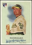 2010 Topps Allen and Ginter Henry Rodriguez Rookie Baseball Card