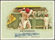 2010 Topps Allen and Ginter Howie Kendrick Baseball Card