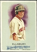 2010 Topps Allen and Ginter Jacoby Ellsbury Baseball Card