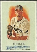 2010 Topps Allen and Ginter James Shields Baseball Card