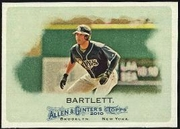 2010 Topps Allen and Ginter Jason Bartlett Baseball Card