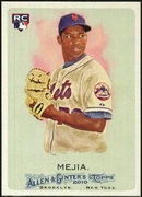 2010 Topps Allen and Ginter Jenrry Mejia Rookie Baseball Card
