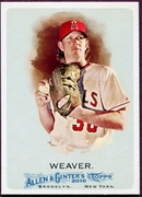 2010 Topps Allen and Ginter Jered Weaver SP Baseball Card