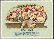 2010 Topps Allen and Ginter Jimmy Rollins Baseball Card