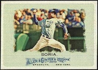 2010 Topps Allen and Ginter Joakim Soria Baseball Card