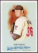2010 Topps Allen and Ginter Joe Nathan SP Baseball Card