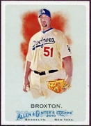 2010 Topps Allen and Ginter Jonathan Broxton SP Baseball Card