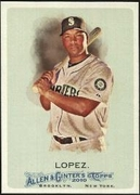 2010 Topps Allen and Ginter Jose Lopez Baseball Card