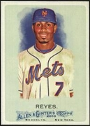 2010 Topps Allen and Ginter Jose Reyes Baseball Card
