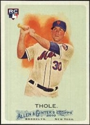 2010 Topps Allen and Ginter Josh Thole Rookie Baseball Card
