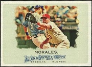 2010 Topps Allen and Ginter Kendry Morales Baseball Card