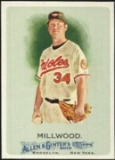 2010 Topps Allen and Ginter Kevin Millwood Baseball Card