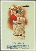 2010 Topps Allen and Ginter Kevin Youkilis Baseball Card