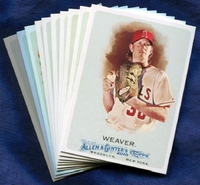 2010 Topps Allen and Ginter Los Angeles Angels of Anaheim Baseball Card Team Set