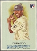 2010 Topps Allen and Ginter Luis Durango Rookie Baseball Card