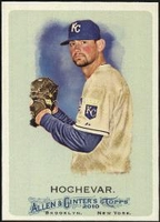 2010 Topps Allen and Ginter Luke Hochevar Baseball Card