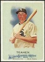 2010 Topps Allen and Ginter Mark Teahen Baseball Card