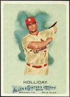 2010 Topps Allen and Ginter Matt Holliday Baseball Card
