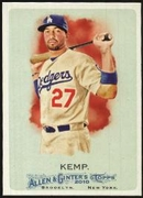2010 Topps Allen and Ginter Matt Kemp Baseball Card